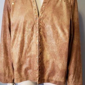 Brown Riveted Jacket